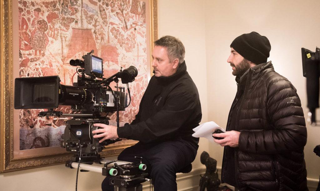 Director, Anthony Maras with DOP, Nick Mathews